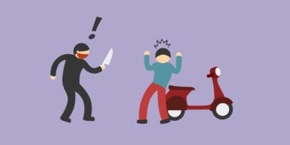 begal motor, kriminalitas, kejahatan, info online, belajar seo
