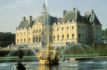 Chateau de Vaux le Vicomte Fountains, France