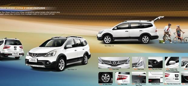 Nissan, Mobil terbaik pilihan keluarga Indonesia.