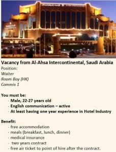 Lowongan kerja di Mekkah dan Madinah