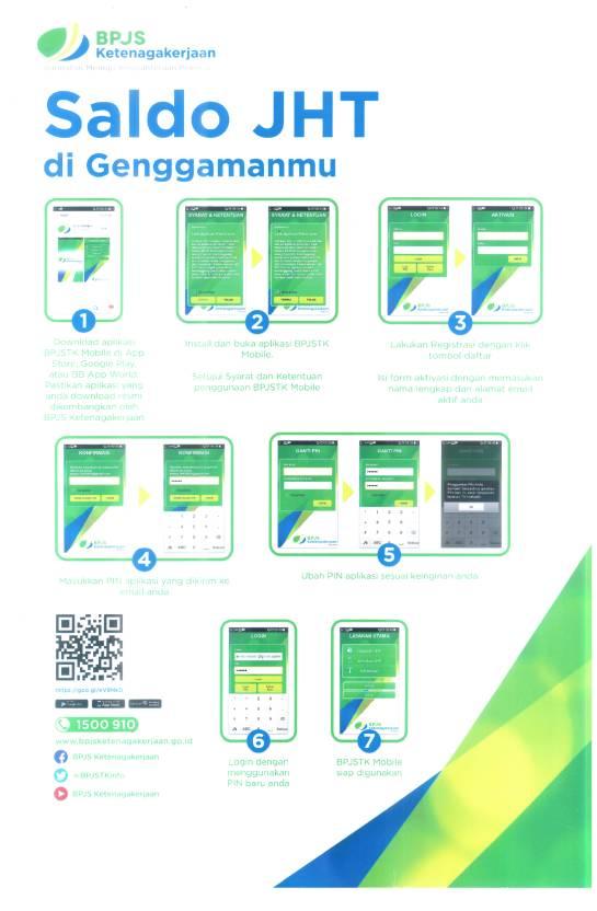 aplikasi bpjstk Mobile