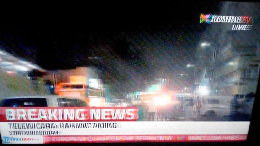 Bom di komplek masjid nabawi