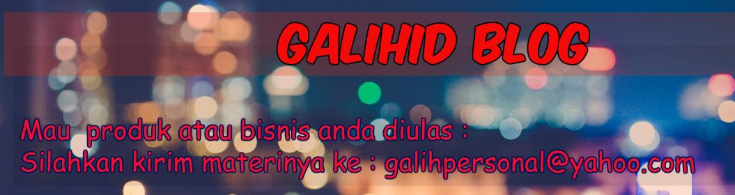 Personal Blog | Galih Arum 2020