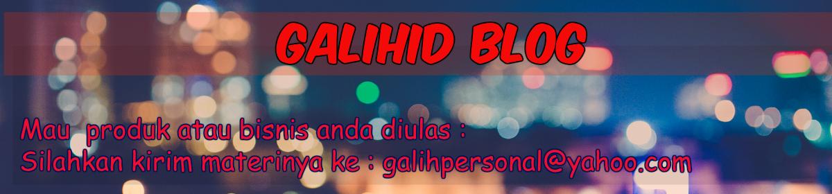 Personal Blog | Galih Arum 2017